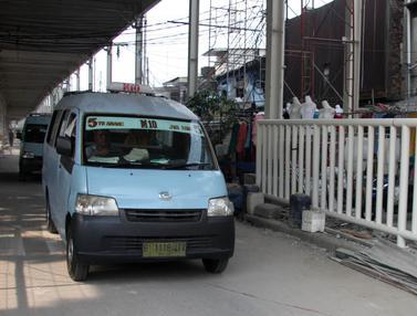 Jalan Jatibaru Raya Kembali  Dibuka untuk Kendaraan