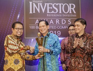 BCA Dinobatkan sebagai Emiten Terbaik 2019 di Investor Award
