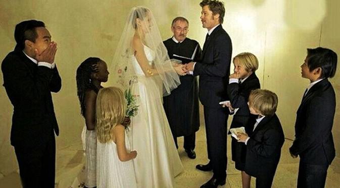 Brad Pitt dan keluarga
