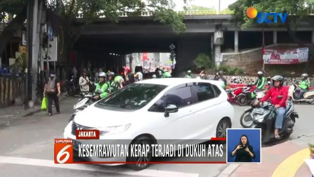 Kebijakan sistem satu arah di Dukuh Atas, Jakarta Pusat, menuai berbagai komentar dari pro dan kontra di masyarakat.