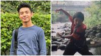 Kini jadi idola para remaja, berikut potret transformasi YouTuber Fiki Naki. (Sumber: Instagram/@fikinakii)
