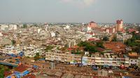 Suasana Kota Jambi dilihat dari atas. (Foto: Dok. Dinas Kebudayaan dan Pariwisata Kota Jambi/B Santoso)