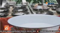 Berikut kelezatan kuliner yang dihidangkan pada pernikahan Kahiyang Ayu mulai dari Markobar hingga Serabi Solo.