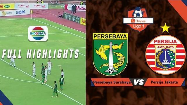 Berita video highlights Shopee Liga 1 2019 antara Persebaya Surabaya melawan Persija Jakarta yang berakhir dengan skor 1-1, Sabtu (24/8/2019).