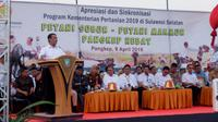 Pemerintah telah menggelontorkan bantuan sektor pertanian dan pedesaan di Provinsi Sulawesi Selatan.