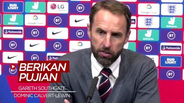 Berita Video Tampil baik, Gareth Southgate beri pujian atas Dominic Calvert-Lewin