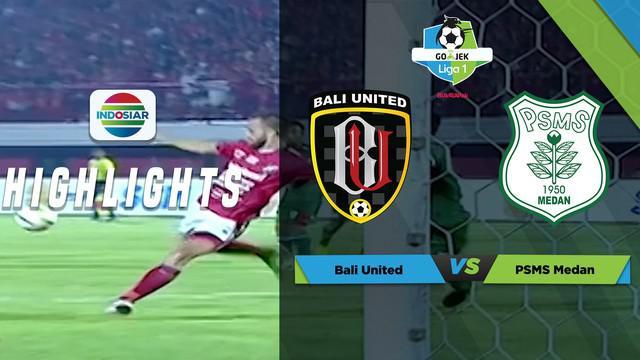 Berita video momen penyelamatan gemilang yang dilakukan kiper PSMS Medan, Abdul Rohim, saat menghalau tendangan keras striker Bali United, Ilija Spasojevic, dalam laga Liga 1 2018, Sabtu (24/3/2018).