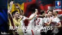 Eropa 2016 Rumania Vs Swiss (Bola.com/Adreanus Titus)