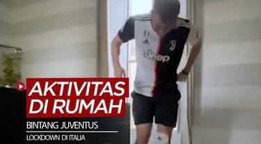 Berita video aktivitas para bintang Juventus saat berada di rumah ketika Italia lakukan lockdown.