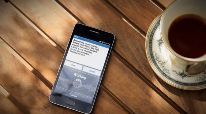 Ilustrasi: Smartphone kehabisan kuota data