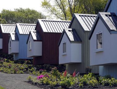 Desa Tunawisma akan Dibangun di Edinburgh