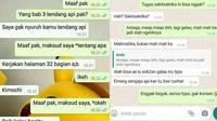 Chat salah ketik (Sumber: Instagram/kocak_bareng2)