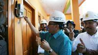 Di penghujung Ramadan ini PLN mengoperasikan listrik di dua desa, yakni Desa Jiret Mas dan Penang, Kecamatan Cermee, Kabupaten Bondowoso.