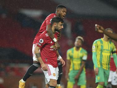 Manchester United Bungkam West Bromwich Albion 1-0