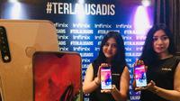 Peluncuran Infinix Smart 3 Plus dan Hot 7 Pro di Indonesia. (Foto: Infinix)