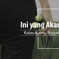Hal ini akan terjadi padamu kalau berhenti olahraga. (Foto: Daniel Kampua, Digital Imaging: Nurman Abdul Hakim/Bintang.com)