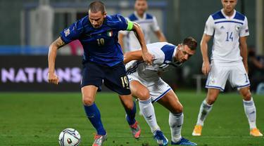 Italia Ditahan Imbang Bosnia di Laga Perdana UEFA Nations League