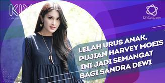 Bentuk pujian Harvey Moeis untuk Sandra Dewi.