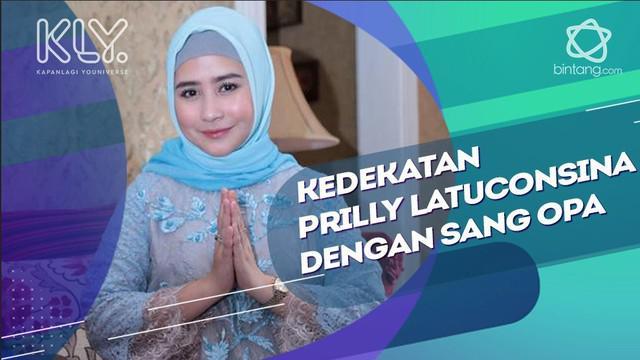 Prilly Latuconsina diharuskan nyanyi lagu ambon saat berkumpul bersama keluarganya di hari raya Lebaran.