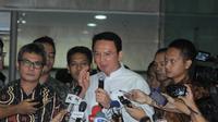 Ahok usal melapor ke KPK (foto: Herman Zakharia)