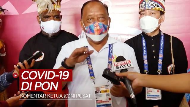 Berita video Ketua Umum KONI Pusat, Marciano Norman, memberi komentar terkait kasus Covid-19 di PON Papua 2021.