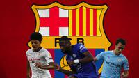 Barcelona - Target Barcelona: Jules Kounde, Antonio Rudiger, Eric Garcia (Bola.com/Adreanus Titus)