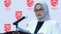 Kepala BPOM Penny K Lukito menyampaikan kerjasama vaksin COVID-19 Sinopharm - G42 dengan Uni Emirat Arab saat ini sudah ada kesepakatan saat konferensi pers di Istana Kepresidenan Jakarta, Selasa (1/9/2020). (Dok Biro Sekretariat Presiden)