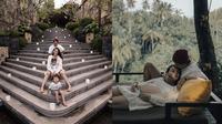 Momen Liburan Dahlia Poland Bareng Suami dan Buah Hati. (Sumber: Instagram.com/dahliachr dan Instagram.com/fandych)