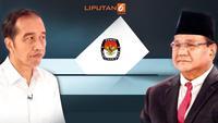 Banner Infografis Elektabilitas Jokowi Vs Prabowo Jelang Pilpres 2019. (Liputan6.com/Triyasni)