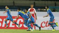 Persib Bandung mengalahkan Persipura 3-0, di Stadion Si Jalak Harupat, Sabtu (18/5/2019). (Bola.com/Muhammad Iqbal Ichsan)