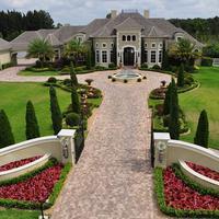 Rumah Dwayne Johnson. (celebrityfileweb.com)