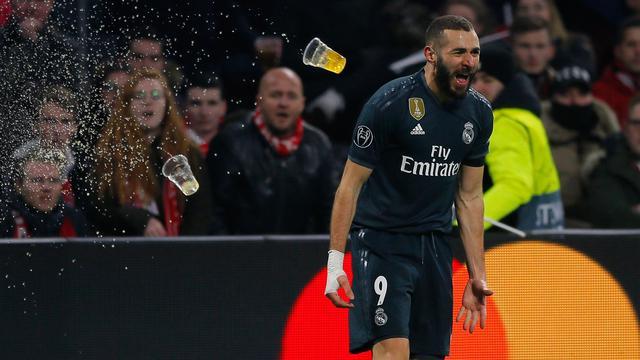 Karim Benzema Korban Kemenangan Real Madrid atas Ajax
