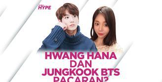 Hwang Hana dan Jungkook BTS Dirumorkan Pacaran, Benarkah?