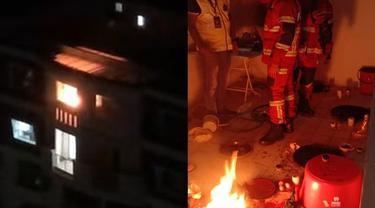 Disangka Kebakaran, Petugas Pemadam Ternyata Temukan Dukun Sedang Beraksi