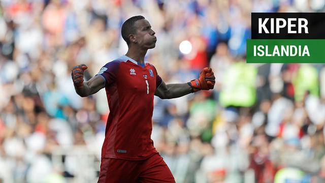Berita video fakta-fakta menarik terkait kiper Islandia, Hannes Halldorsson, yang menahan penalti bintang Argentina, Lionel Messi, di Piala Dunia 2018.