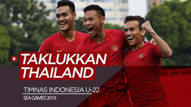 Berita video highlights sepak bola Grup B SEA Games 2019, di mana Timnas Indonesia menaklukkan Thailand dengan skor 2-0, Selasa (26/11/2019).
