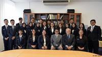 Siswa Semarang yang ikut pertukaran pelajar di Jerman. (KBRI Berlin)