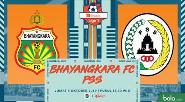 Bhayangkara FC Vs PSS Sleman