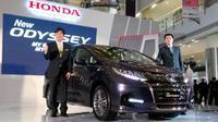 Honda Odyssey 2018 mengalami ubahn eksterior dan interior. (Foto: Arief Aszhari)