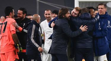 FOTO: Juventus Melaju ke Final Coppa Italia usai Bermain Imbang 0-0 dengan Inter Milan
