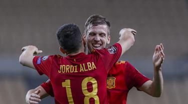 Dani Olmo - Timnas Spanyol - Kualifikasi Piala Dunia 2022