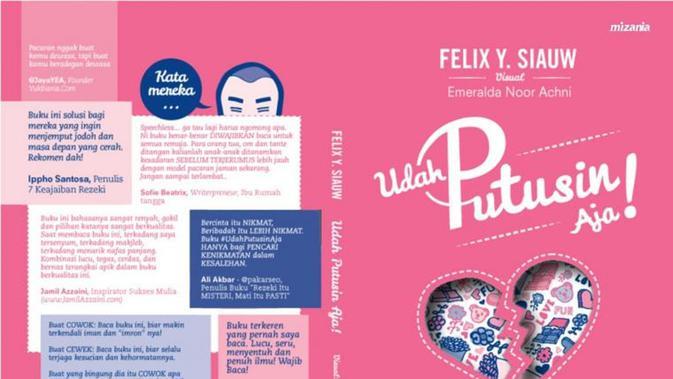 Novel 'Udah Putusin Aja'. Foto: Twitter