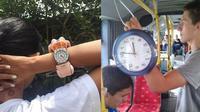 Modifikasi jam tangan (Sumber: Instagram/galihjohar)