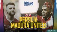Piala Gubernur Jatim 2020: Persija Jakarta vs Madura United. (Bola.com/Dody Iryawan)