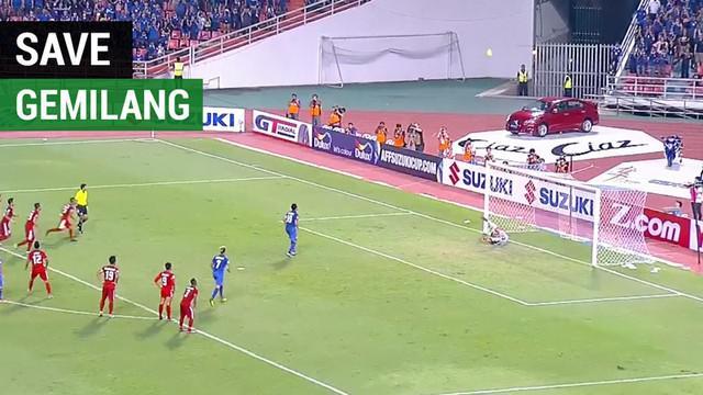 Berita video momen save gemilang kiper Timnas Indonesia, Kurnia Meiga, pada leg II Final Piala AFF 2016 di Bangkok, Thailand.