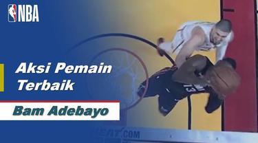 Berita Video aksi terbaik Bam Adebayo saat Miami Heat kalahkan Atlanta Hawks 135-121
