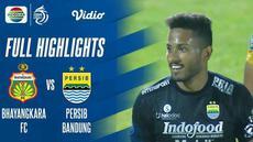 Berita video highlights pertandingan BRI Liga 1 2021/2022 antara Bhayangkara FC melawan Persib Bandung yang berlangsung di Stadion dr. H. Moch. Soebroto, Magelang, Sabtu (16/10/2021).