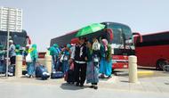 7 orang sopir bus dipecat lantaran meminta pungli kepada jemaah haji Indonesia. (www.haji.kemenag.go.id)