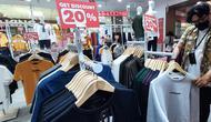 Produk lokal 3Second, di Tangcity Mall. (Pramita)