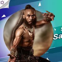 Yayan Ruhian sebagai Mahesa Birawa di Wiro Sableng